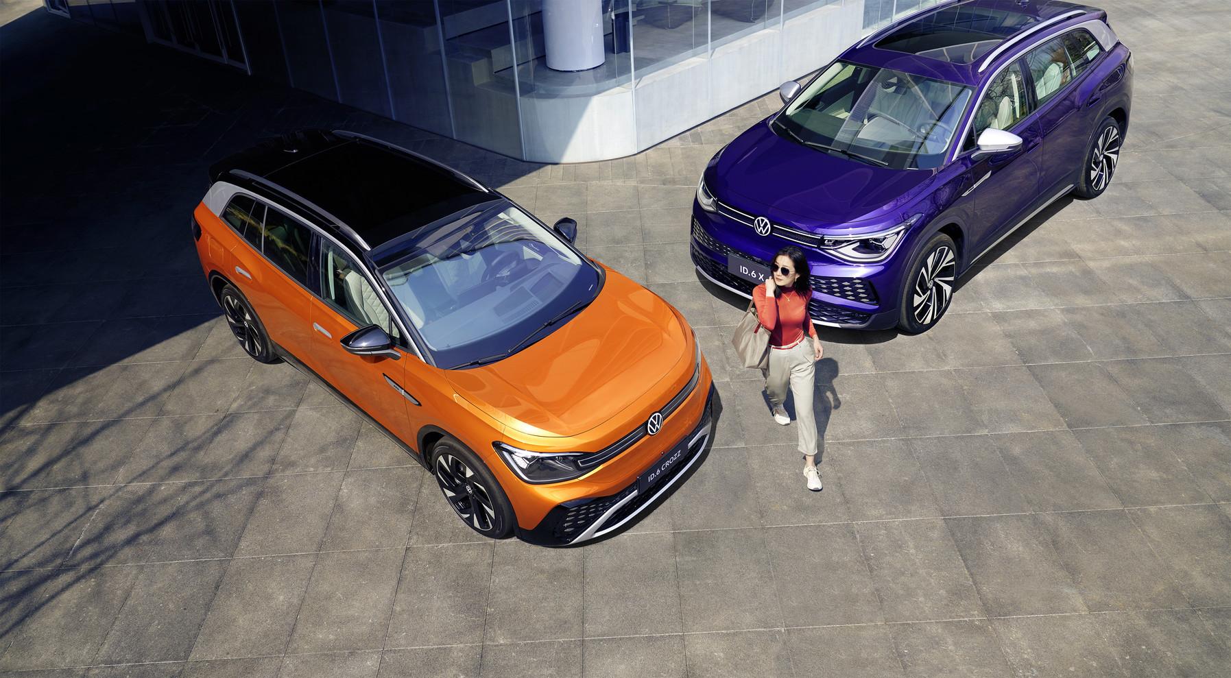 Volkswagen ID 6 world premiere