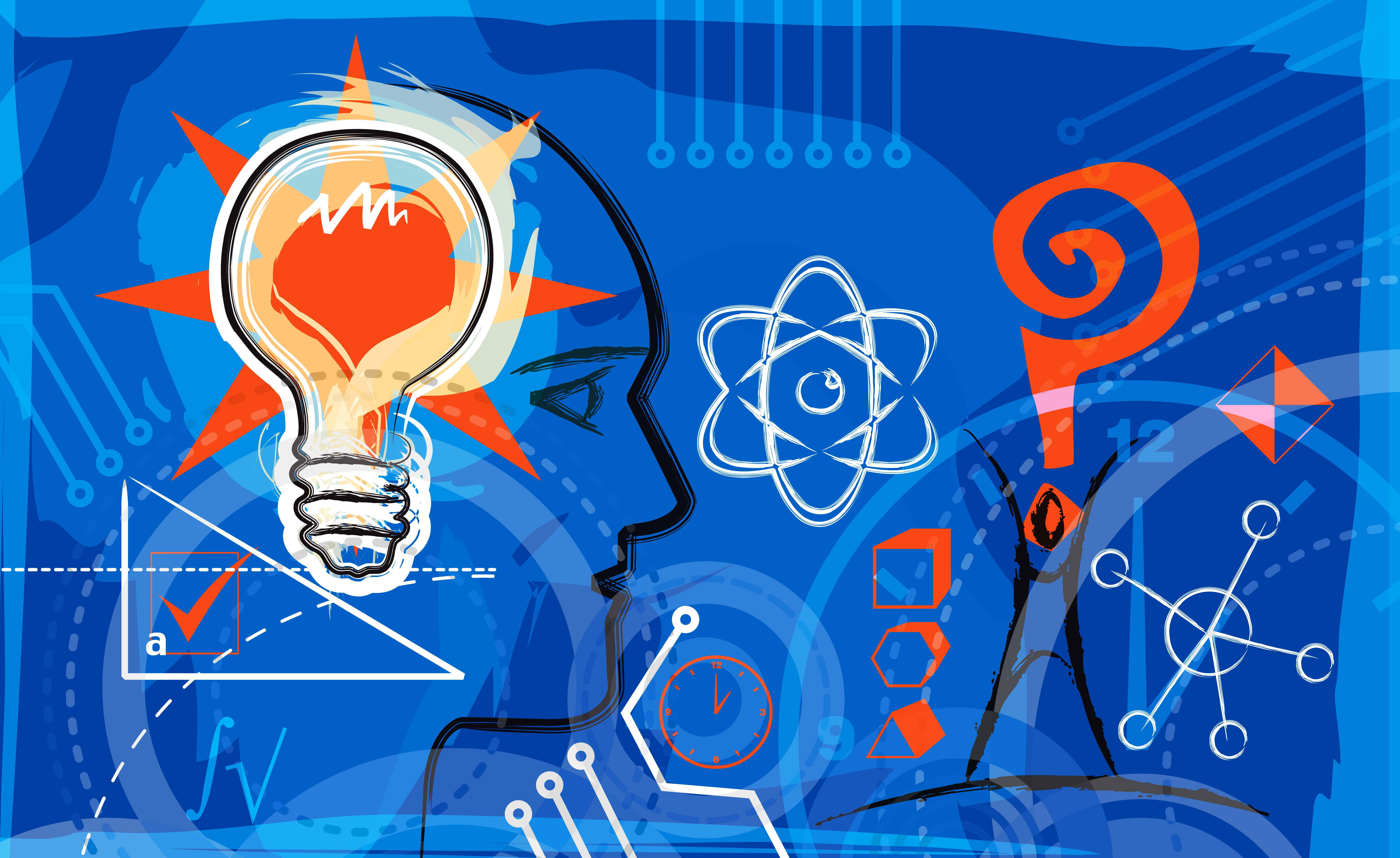 Creative knowledge illustration